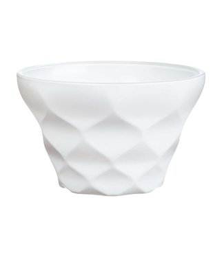 Luminarc Iced Diamant Ice Cream Dish White 20cl (set of 12)