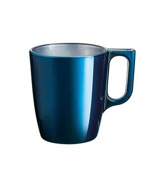 Luminarc Flashy Beker Donkerblauw 25cl - Glas (set van 6)