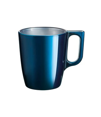 Luminarc Flashy - Cup - Dark blue - 25cl - Glass - (set of 6)