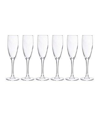 Cosy Moments Cosy Moments - Champagneglas - Transparant - 19cl - Glas - (set van 6).