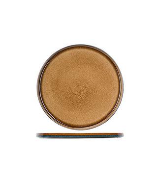 Cosy & Trendy Piatto piano ambra Quintana D32,5 cm (set di 2)