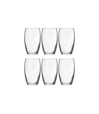 Cosy Moments Cosy Moments - Waterglas - Transparant - 36cl - Glas - (set van 6).