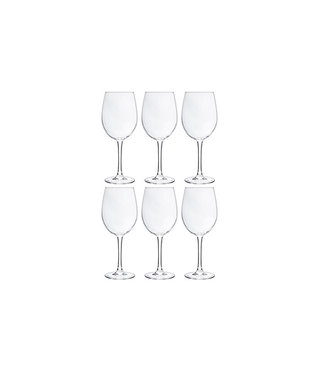 Cosy Moments Cozy Moments - Wine glass - Transparent - 36cl - Glass - (set of 6).