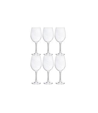 Cosy Moments Gemütliche Momente - Weinglas - Transparent - 36cl - Glas - (6er-Set).