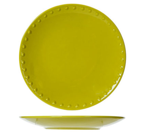 Cosy & Trendy Fun Pearls Lime Dessertteller D21.3 6er-Set