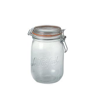 Le Parfait Super - Einmachglas - 1 Liter - D85mm - (12er Set)