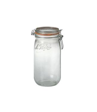 Le Parfait Super - canning jar - 1.5 liter - D85mm - (set of 12)