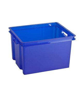 Keter Crownest Box 30L Laser Blue (set of 4)