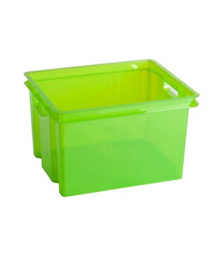 Keter Crownest Box 30l Green Laser 42.6x36.1x26 Cm