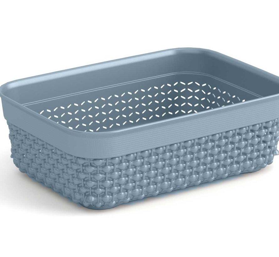 Filo Organizer A6 Grey 18,5x13,5xh6cm Rechthoek