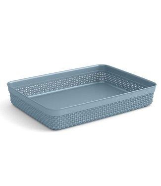 Kis Filo Organizer A4 Misty Blue 34,5x26xh6cm Rechthoek