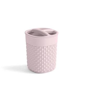 Kis Filo Holder For Teethbrush Rose 9x9xh12cm