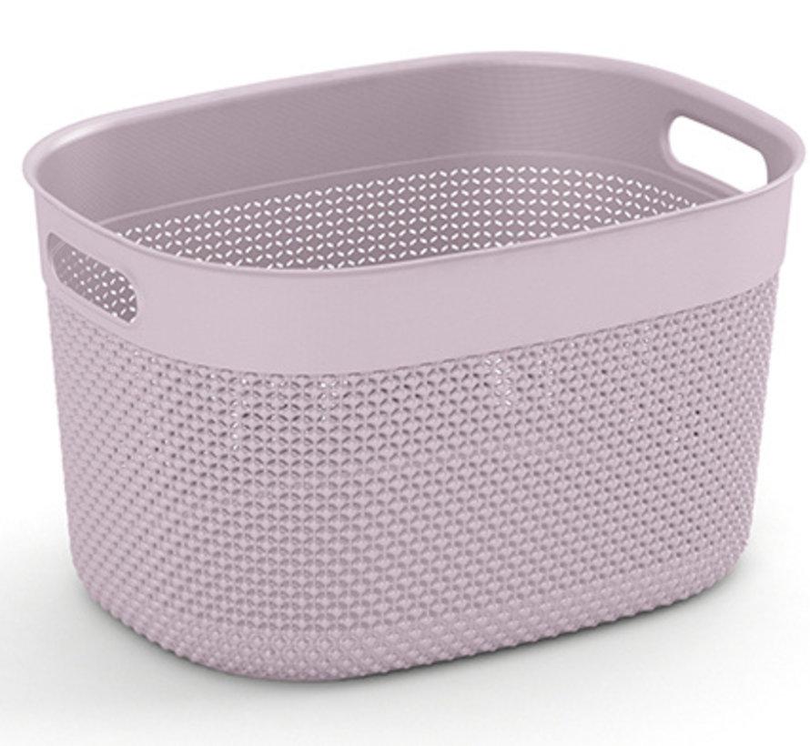 Filo Basket L Rose 38x29xh22cm