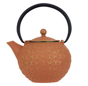 Cosy & Trendy Sakai Theepot Goud-terracotta 1lgietijzer