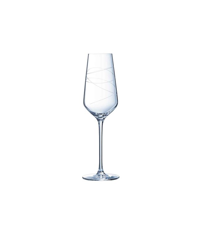 Eclat Abstraction Champagneglas 21cl Set 4