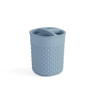 Kis Filo Holder For Teethbrush Misty Blue9x9xh12cm