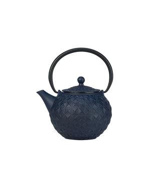 Cosy & Trendy Sakai Teapot Blue 1 liter in Cast Iron