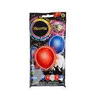 Goodmark Illooms Led Balloon Set5 Blauw Rood Witincl 5x 2 Ag3 Batt (set van 18)