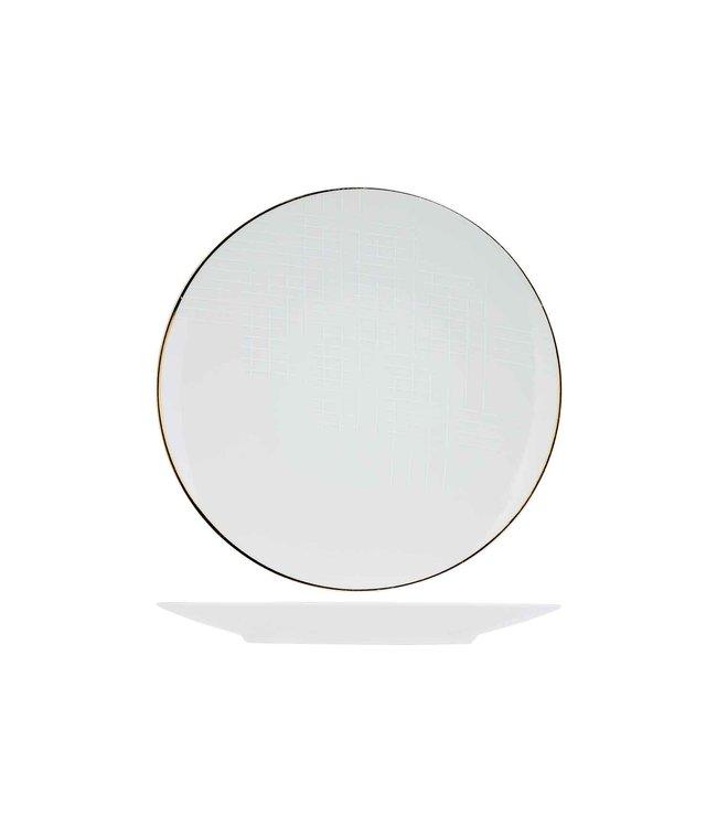 Cosy & Trendy Alina - Dinerbord - 27cm - Porselein - (set van 6)