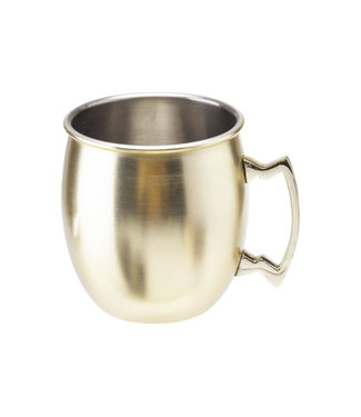 Cosy & Trendy Moscow Mug Drinking Cup Gold 45cl