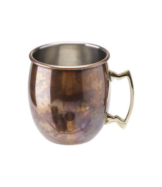 Cosy & Trendy Moscow Mug Drinking Cup Antique Copper Look 45cl