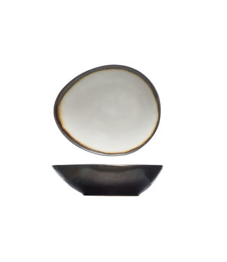Cosy & Trendy Mercurio Bowl Oval 17x20.5xh5.5cm (set of 6)