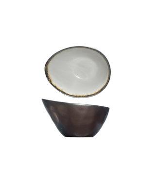 Cosy & Trendy Mercurio Oval Bowl 15x11.5xh8.5cm (6 Stück)