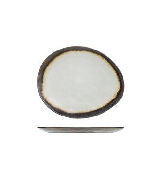 Cosy & Trendy Mercurio Plate Oval 19.5x16.5cm (set of 6)