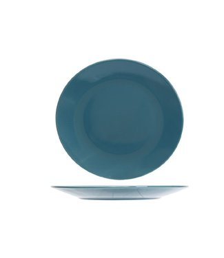 Cosy & Trendy Serena Blue Lagoon Dessert Plate D20cm  - Ceramic - (Set of 6)