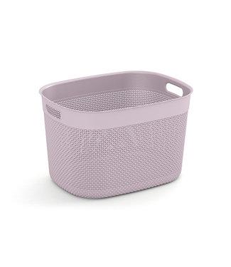 Kis Filo Basket Xl Rose 44x33xh27cm