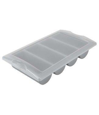 Plastibac Lid For Cutlery Tray Gastro 1/1 -4 Compt (set of 9)