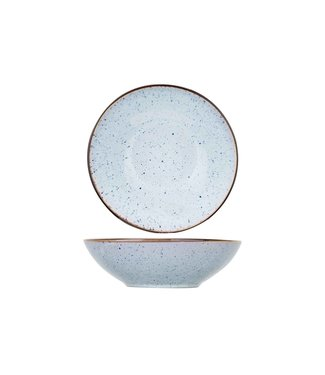 Cosy & Trendy Tessa-Blue - Deep Plate - D18xh5.5cm - Ceramic - (set of 6)