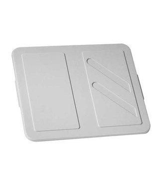 Keter Crownest - Deksel - Box 17-30 L - Lichtgrijs - 44.4x37x1.5cm - (set van 6)