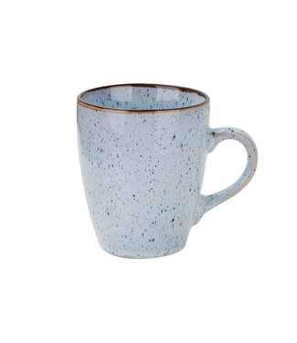 Cosy & Trendy Tessa-Blue - Cup - 20cl - Ceramic - (set of 6)