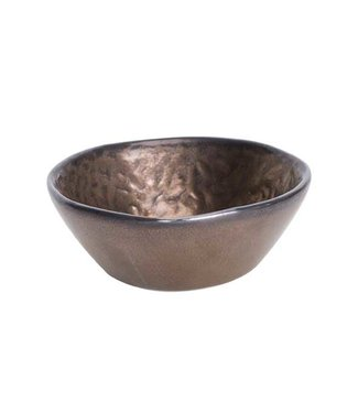 Cosy & Trendy Copernico - Apero bowl - Copper - D7xh2.8cm - Ceramic - (set of 6).
