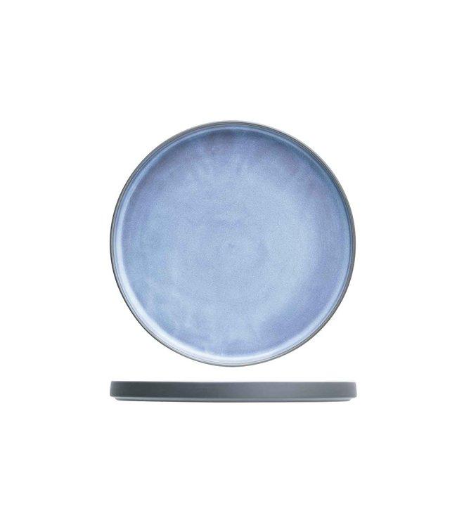Cosy & Trendy Baikal Blue Servies Dinerborden -  D22cm (set van 6)