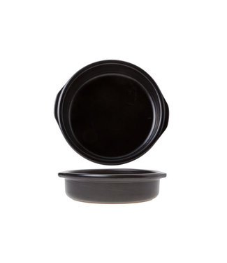 Regas Creme Brulee Zwart D17xh3cm (set van 8)
