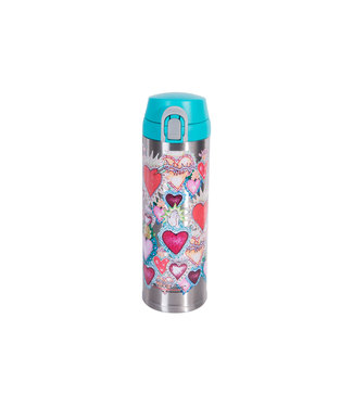 Thermos Decor Hearts Trinkflasche 480mlisolierend Edelstahl