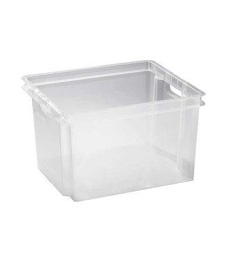 Keter Crownest - Aufbewahrungsbox - 30 Liter - 42,6 x 36,1 x 26 cm - (5er-Set)