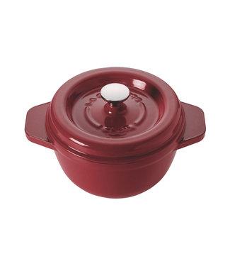 Godin Gietijzer Kookpot Rood Ro 27cm-4.5lext Rood- Int Sable