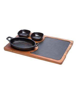 Cosy & Trendy Grillpan Set4 Dlg 38,5x25xh1,5cm