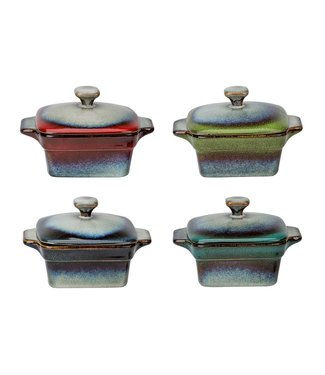 Cosy & Trendy Jamiro-Mix - Ofenglas - 30cl - Keramik - (8er Set)