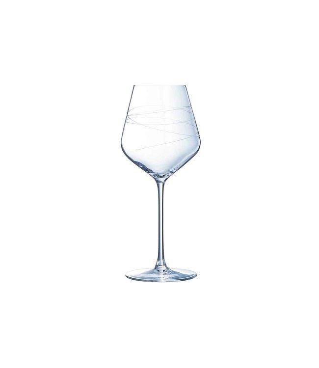 Eclat Abstraction - Wijnglas - 47cl - (Set van 4)