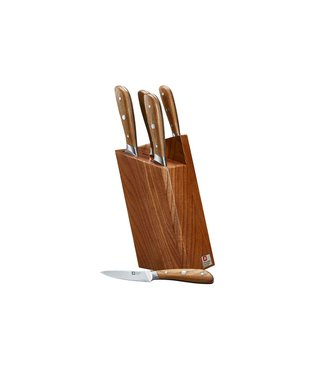Richardson Sheffield Knife Block Scandi 5 Pcs