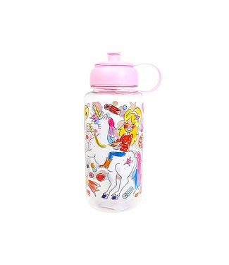 Blond Amsterdam Unicorn Drinkfles D9xh22cm