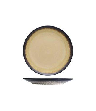 Cosy & Trendy Fervido Yellow Servies Dinerborden - D26,5cm - (set van 6)