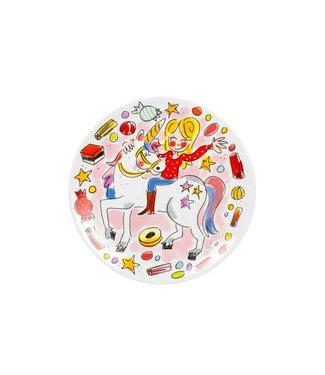 Blond Amsterdam Unicorn Dessert plate D18.5 cm
