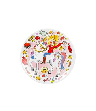 Blond Amsterdam Unicorn Dessertbord D18,5cm