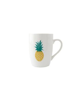 Brandless Pineapple Beker D8xh10cm - 33cl