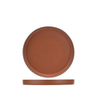 Cosy & Trendy For Professionals Copenhague - Rood - Dinerbord - D25cm - Porselein - (set van 6).